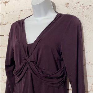 Boden Ruched Top, Size 8